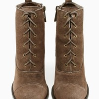 Shoe Cult Camden Bootie - Taupe