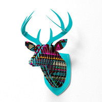 DENY Designs Home Accessories | Kris Tate Huipil Faux Deer Mount