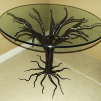 Tree Form Table by SethSatterfieldIron on Etsy