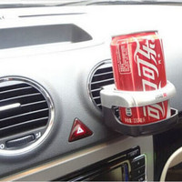 Car Vehicle Beverage Bottle Drink Can Cup Holder Stand Clip Accessories JT12