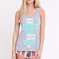 Young & Reckless Decisions Racer Tank at PacSun.com