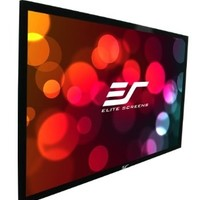 Elite Screens ER120WH1 Sable Fixed Frame Projection Screen (120 inch 16:9 AR):Amazon:Electronics