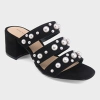 Women's Alice Multi Band Pearl Heeled Pumps - Who What Wear™