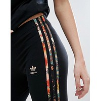 """Adidas"" Fashion Exercise Fitness Gym Yoga Running Leggings Sweatpants"