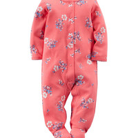 Carter's® Floral Print Sleep & Play – Baby 0-9 Mos. | Stage Stores