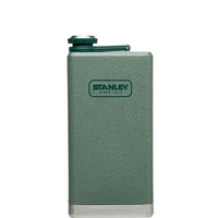 Stanley 12Oz Stainless Steel Flask Hammertone Green One Size For Men 24344050001