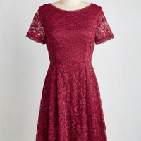 Short Length Short Sleeves A-line Que Shiraz, Shiraz Dress