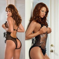 On Sale Hot Deal Cute Plus Size Transparent Sexy Sleepwear Exotic Lingerie [8864116679]