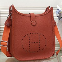 Herm¨¨s Women Fashion Leather Handbag Crossbody Shoulder Bag-4