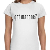 Got Mahone Austin Ladies Softstyle Junior Fit Tee Cotton Jersey Knit Gift Shirt