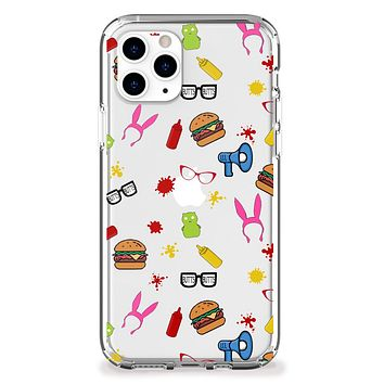 Burger Family iPhone Case