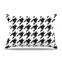 "Empire Ruhl ""Spacey Houndstooth"" Pillow Case"