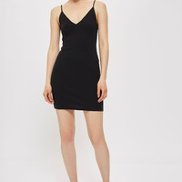 Strappy Mini Bodycon Dress - Dresses - Clothing
