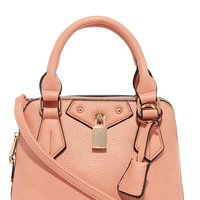 Slight Attendant Peach Mini Handbag
