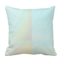 Pretty Pastels - Pale Colored Abstract Throw Pillow