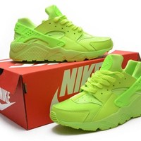 """Nike Air Huarache"" Women Sport Casual Solid Color Air Cushion Sneakers Running Shoes"