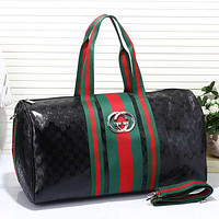 G Travel Bag Leather Tote Handbag Shoulder Bag