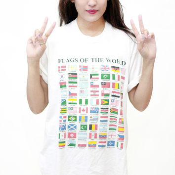 Flags of The World Tee
