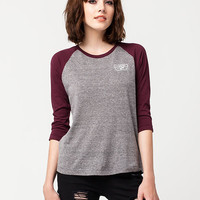 VANS Authentic Womens Raglan Tee | Raglans & L/S Tees