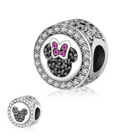 Fit Original Pandora Charms Bead Bracelet 2016 Autumn Really 925 Sterling Silver Charm Minnie Mickey DIY Jewelry Making Berloque
