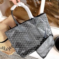 Goyard shopping bag double-sided mother bag shoulder bag two-piece