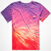 Mowgli Surf Solar Flow Mens Pocket Tee Multi  In Sizes