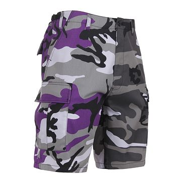 Rothco - Two-Tone Ultra Violet Purple City Camo BDU Shorts