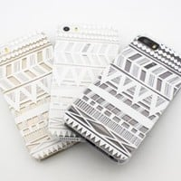Plastic Case Cover for iPhone 5 5S 5C 6 6Plus (Pick One) Henna Itzli Mayan Aztec tribal native american indian ethnic