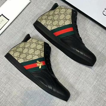 Gucci Fashion Men Casual High Tops Sport Shoes Sneakers