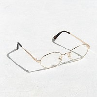 UO Small Metal Oval Readers | Urban Outfitters