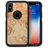 The Western World Map 2 - iPhone X OtterBox Case & Skin Kits