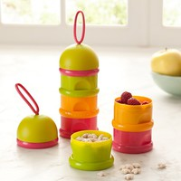 Béaba Stackable Formula & Snack Containers | Pottery Barn Kids