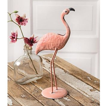 Tabletop Flamingo
