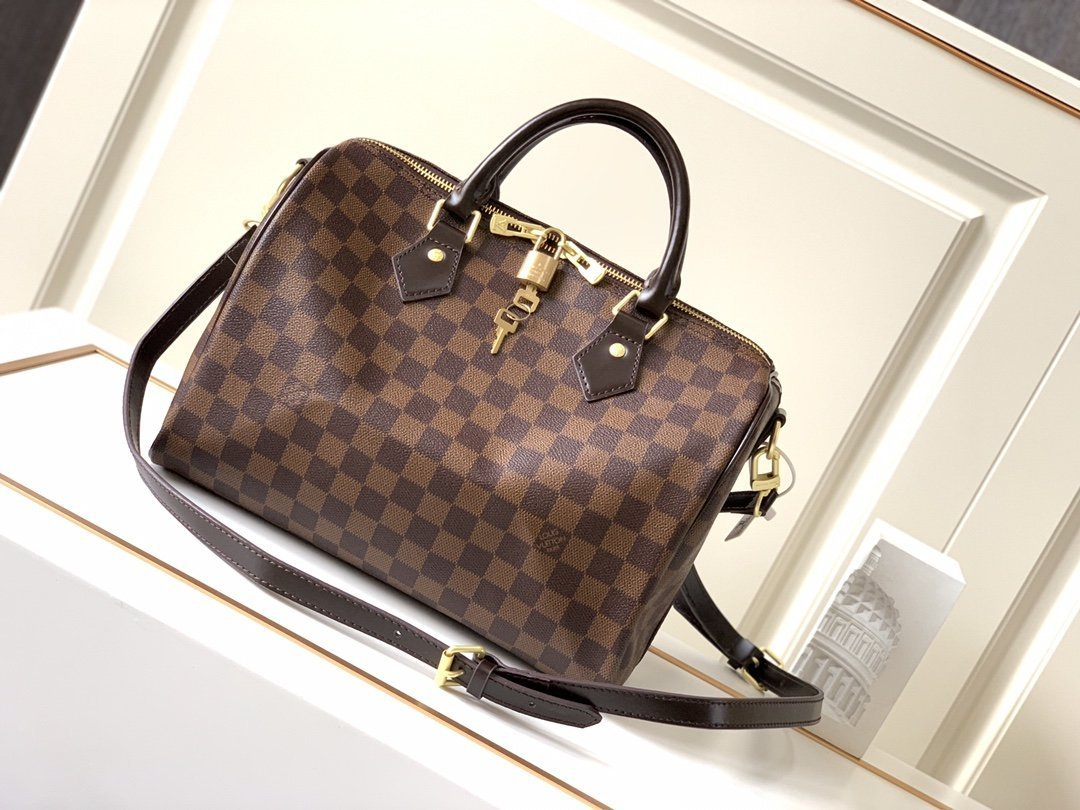 Image of lv womens leather shoulder bag satchel tote bags crossbody 46