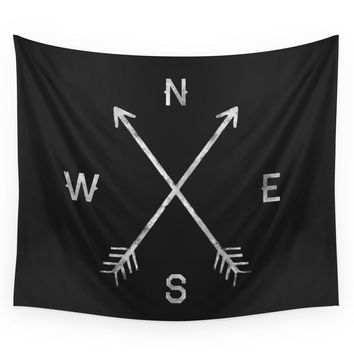 Society6 Compass Wall Tapestry
