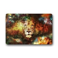 Autumn Fall welcome door mat doormat Fashion Living Room  Cool Galaxy Lion Face 40x60cm  Custom  Home decor Carpet Fashion Rug AT_76_7