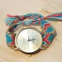 Freya Friendship Bracelet Watch