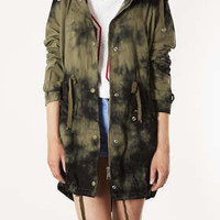 Tiedye Hooded Parka - New In This Week  - New In