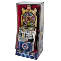 Wheel of Fortune Slot Machine Bank - 4 Units