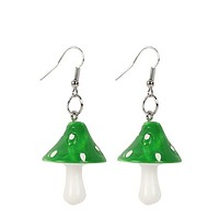 Mushroom House Earrings