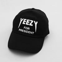 Yeezy For President Hat - Black