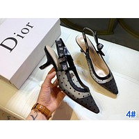 Dior Hot Sale Women Classic Sandals High Heels Shoes 4#