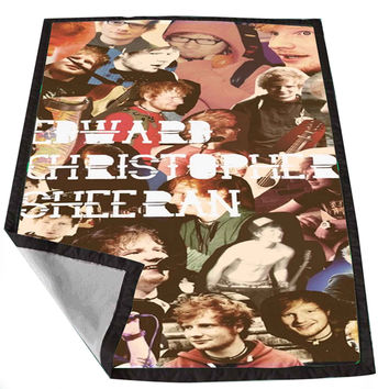 ed sheeran collage e5ff9206-eaa7-4bec-bfb1-e45f15f77674 for Kids Blanket, Fleece Blanket Cute and Awesome Blanket for your bedding, Blanket fleece *02*