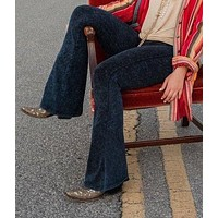 Medium Mineral Wash Bell Bottom Pants