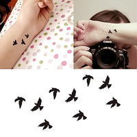 Fashion Body Art Stickers Removable Waterproof Temporary Tattoo = 4446328452
