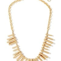 Banana Republic Womens Tough Love Necklace Size One Size - Gold