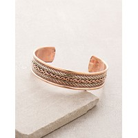 Chain Copper Healing Bangle