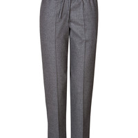Valentino - Wool-Cashmere Flannel Jogging Pant