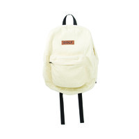 GOLF CORDUROY BACKPACK CREAM