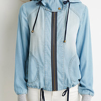Life in Progress Hooded Chambray Jacket